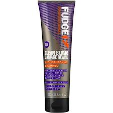 Fudge Clean Blonde Damage Violet Shampoo 50ml